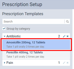 editing prescription templates dentrix ascend
